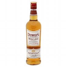 Dewar's 750ml White Label Scotch Whiskey