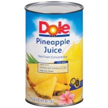 Dole 6oz Pineaple Juice