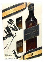 Johnnie Walker 750ml Black Label w/2 50mls