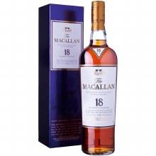 Macallan 750ml 18 Years Highland Single Malt Scotch Whisky
