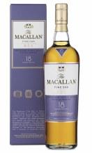 Macallan 750ml 18 Years Fine Oak Single Malt Scotch Whisky