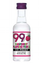 99 50ml Raspberry Vodka