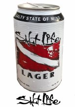 Salt Life 6 Pack Pale Lager Beer Cans