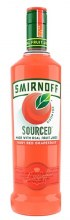 Smirnoff 750ml Sourced Ruby Red Grapefruit Vodka