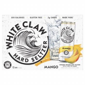 White Claw 12pk Mango