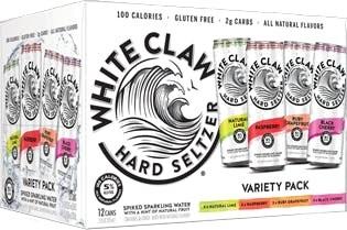 White Claw 12pk variety