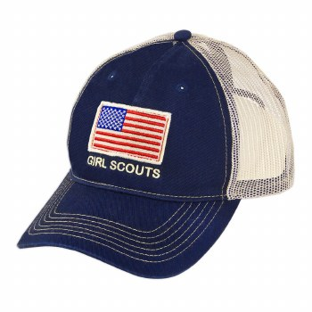 NAVY FLAG BASEBALL CAP