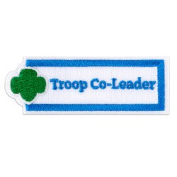 TROOP CO-LEADER PATCH