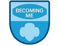 GIRL SCOUTS BECOMING ME PATCH