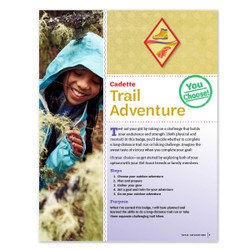 Cadette Trail Adventure Badge