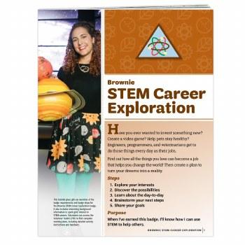 Brownie STEM Career Exploratio