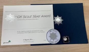 USAGSO Silver Award Packet