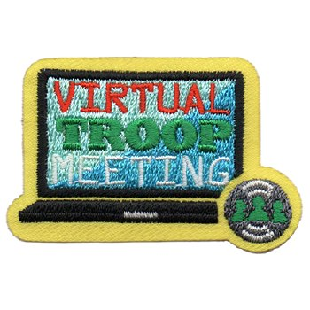 Virtual Troop Meeting Patch