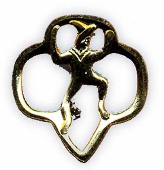 Girl Scout Brownie Membership Pin