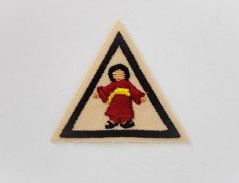 Brownie Kokeshi Badge