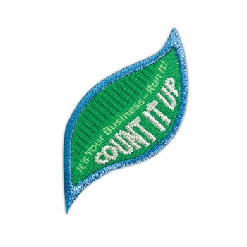 Daisy Count It Up Badge