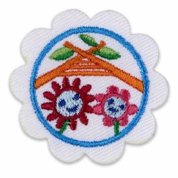 Daisy Buddy Camper Badge