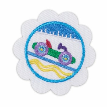 Daisy Model Car Design Challenge Badge