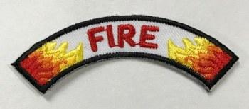 Fire Rocker for Emergency Preparedness Fun Patch