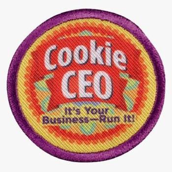 Junior Cookie CEO Badge
