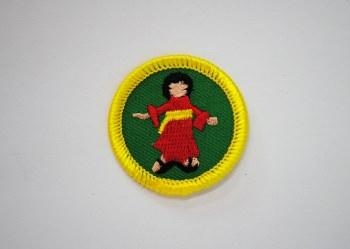 Junior Kokeshi Badge