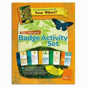 Senior It's Your Planet Badge Activity Set