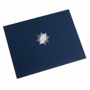 Silver Award Certificate Holder - Single Holder