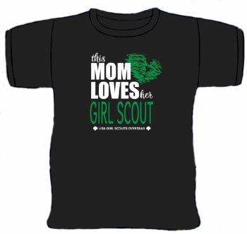 This Mom Loves Her Girl Scout T-Shirt - Small