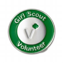 Official Volunteer Pin