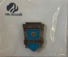Volunteer Years of Service Award Pin - Green