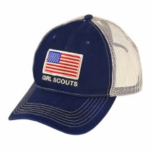 NAVY FLAG BASEBALL CAP