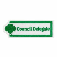 COUNCIL DELEGATE PATCH