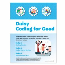 Daisy Coding For Good Badge Re