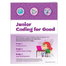 Junior Coding For Good Badge R