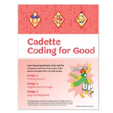 Cadette Coding for Good Badge