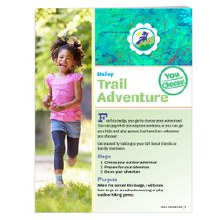 Daisy Trail Adventure Badge Re