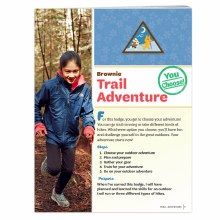 Brownie Trail Adventure Badge