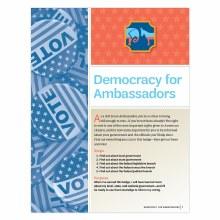 Democracy for Ambassadors Badg