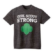 GIRLS  MED GS STRONG SS TSHIRT