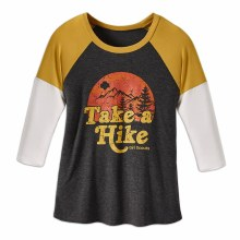 TAKE A HIKE XL 3/4 SLEEVE SHIR