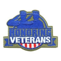 Honoring Veterans Patch
