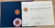 USAGSO Bronze Award Packet