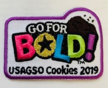 USAGSO Cookie Patch 2019
