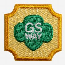 Ambassador Girl Scout Way Badge