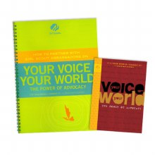 Ambassador Your Voice, Your World & Adult Guide Journey Book Set