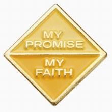 Ambassador My Promise, My Faith Pin Year 1