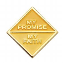 Ambassador My Promise, My Faith Pin Year 2