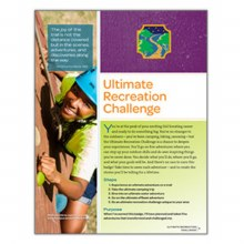 Ambassador Ultimate Recreation Challenge Badge Requirements