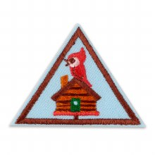 Brownie Cabin Camper Badge