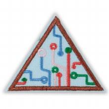 Brownie Think Like A Programmer Award Badge